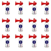 Air Horn for Boating, Sports, Safety. Loud & Effective Boat Signal & Shoreline Marine USCG Rated - Appropriate for Any Purpose - Non-Flammable, Ozone Safe. (12-Pack 8oz)