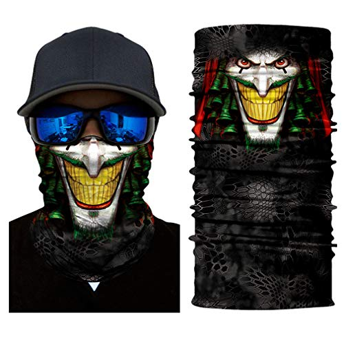 Price comparison product image Headb 3D Seamless Animal Puppy Tube Shield Face Mask Motorcycle Ring Head Skull Scarf Men Women 5