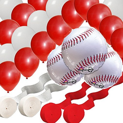Batter Up - Baseball Party Decorating Kit by Balloons Decorations