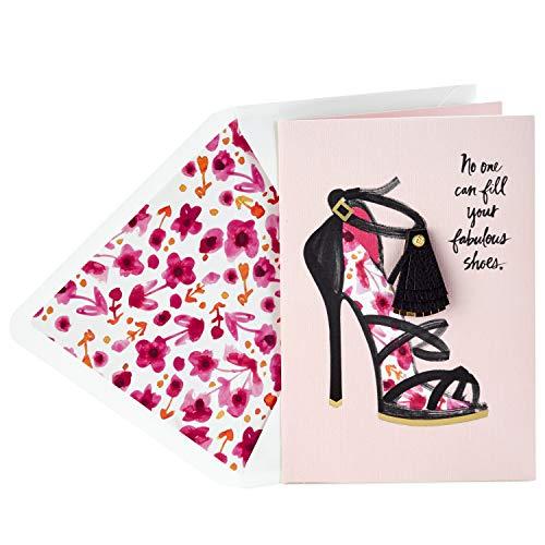 Hallmark Signature Birthday Card for Friend (Fabulous Shoes) (Birthday Card For My Best Friend)