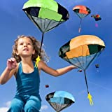 45cm Toy Parachute Kids Hand Throw Parachute Classic Toys for Children