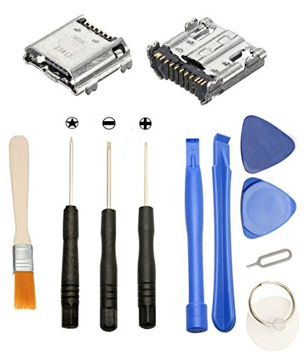 Price comparison product image Games&Tech 2 x USB Charging Charger Port Connector Dock + Tools for Samsung Galaxy Tab 4 7.0 SM-T230N SM-T230NU SM-T237P