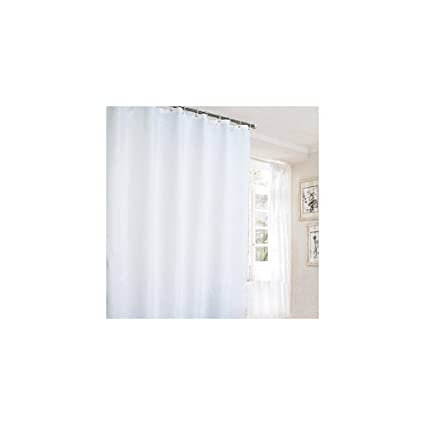 Ufaitheart 78 x 84 Inch Long Shower Curtain Extra Long Fabric Shower ...