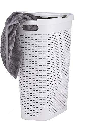 Superio Palm Luxe Narrow Laundry Hamper 1 15 Bushel