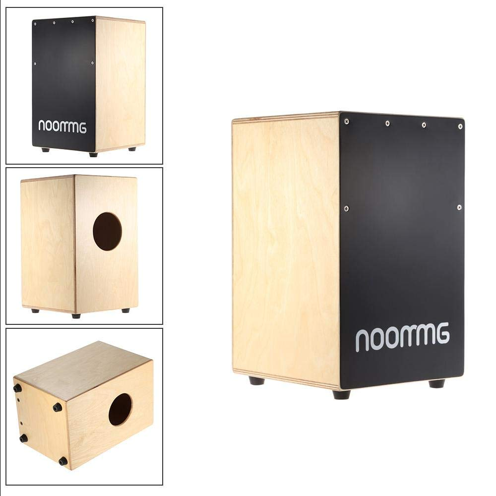 Wooden Cajon Hand Drum Children Box Drum Persussion Instrument by Aromzen