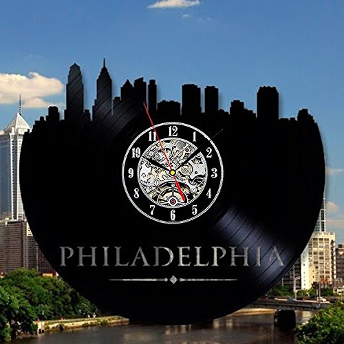 Philadelphia Art Vinyl Wall Modern Decor Home Room Record Vintage Decoration Review