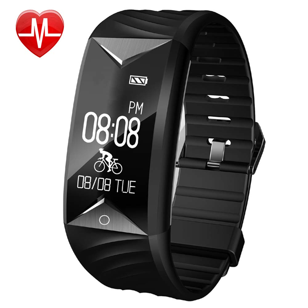 Willful Fitness Tracker Fitness Watch Waterproof Heart Rate Monitor Activity Tracker Pedometer Watch with Step Counter Calories Sleep Monitor Alarm Clock Call SMS SNS Notice for Men Women Kids
