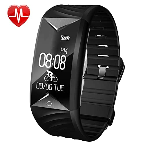 Willful Fitness Tracker,Fitness Watch Waterproof Heart Rate Monitor Activity Tracker Pedometer Watch Step Counter
