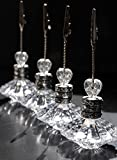 Richland Crystal Place Card & Table Number Holders Set of 24