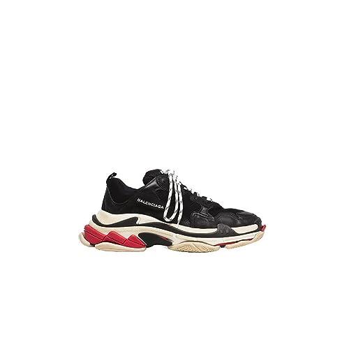 Balenciaga - Zapatillas de Gimnasia Hombre, Negro (Negro), 42 EU: Amazon.es: Zapatos y complementos