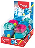 Maped 032711 Igloo Eject Pencil Sharpener - Assorted (Pack of 30)