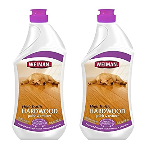 Weiman 27oz, High Traffic Hardwood Polish - Pack of 2 - 27 Oz Future Floor