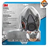 3M Paint Project Respirator, Medium - R6211-4 Pack