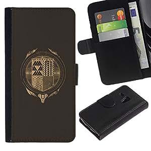 All Phone Most Case / Oferta Especial Cáscara Funda de cuero Monedero Cubierta de proteccion Caso / Wallet Case for Samsung Galaxy S3 MINI 8190 // Hipster Abstract