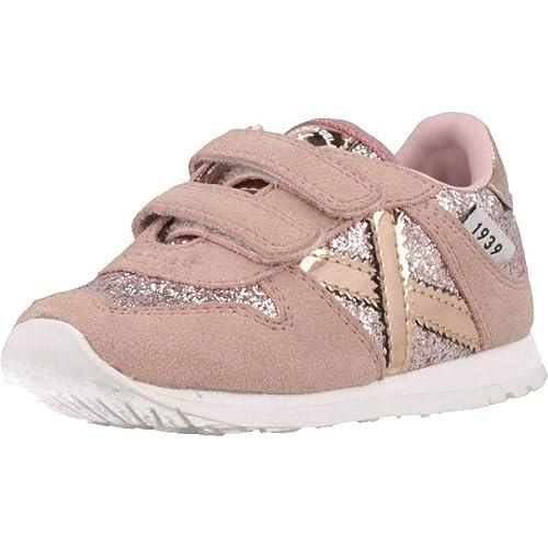 Zapatillas para niña, Color Rosa, Marca MUNICH, Modelo Zapatillas para Niña MUNICH Baby Massana Rosa: Amazon.es: Zapatos y complementos