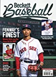 Beckett Baseball Card Monthly Price Guide Value Magazine August 2018 Mookie Betts Boston Red Sox