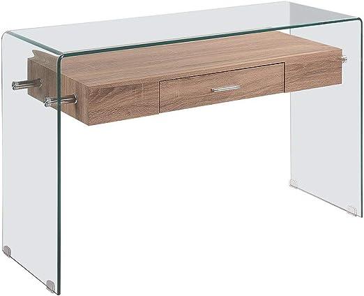Grupo SDM Consola Marlyn, Madera, Cristal, 120x40 cms: Amazon.es ...