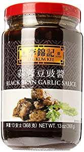 Lee Kum Kee Lkk Black Bean Garlic Sauce, 13 Ounce