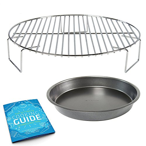 Discover Bargain Convection Oven Rack Grill 2 inch - Cook in Multiple-Layers - Bundles with Cooking ...