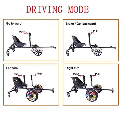 Amazon.com : Lvbeis Hoverboard Go Kart Seat Adjustable ...