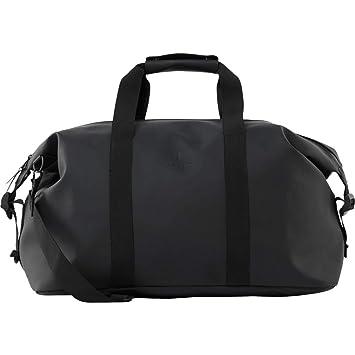 688464867f3 Amazon.com | Rains Weekend Duffel Black One Size | Travel Duffels