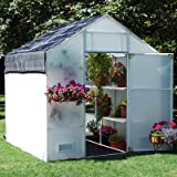 Garden Master 12' Greenhouse Kit Panel Thickness: 5.0 mm
