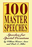 img - for 100 Master Speeches: Speeches for Special Occasions book / textbook / text book