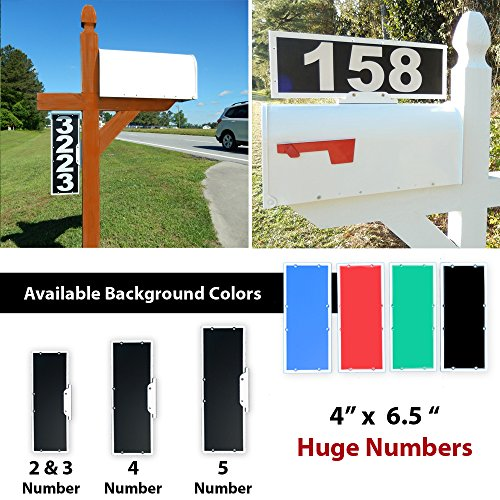 Home Accessories Outdoor Address Plaque - 6