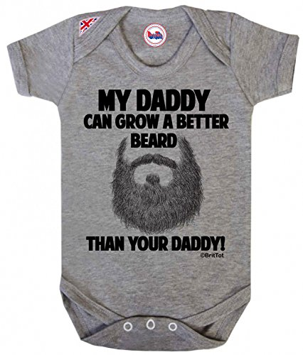 DADDY better BritTot Unisex Bodysuit product image