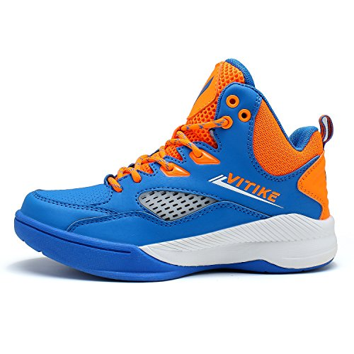 Image of Littleplum Ashion Kids Boys Girls Casual Basketball Sport Shoes Athletic Running Walking Shoes Fashion Sneakers