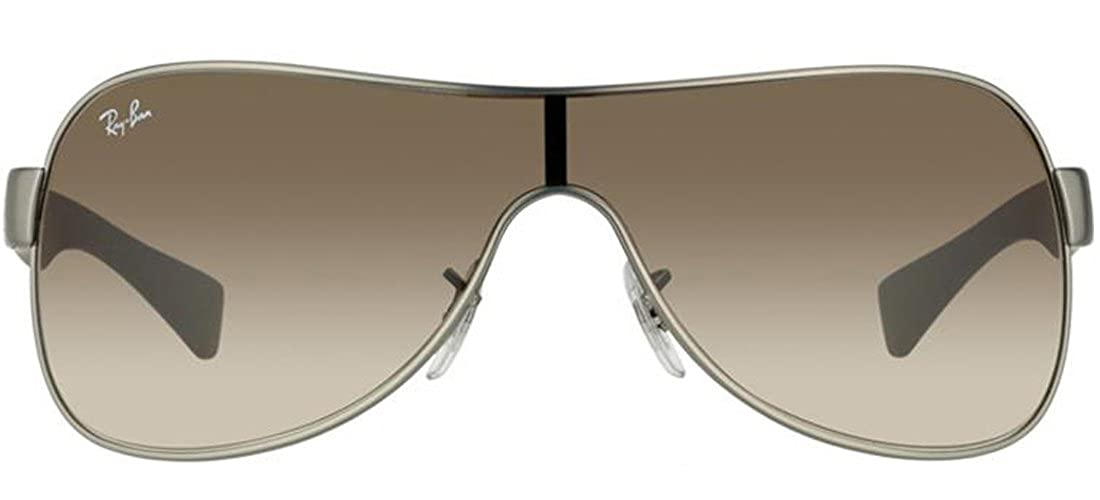 636858c61a Amazon.com  Ray Ban RB3471 029 13 Gun Metal Matte Brown Gradient 32mm  Sunglasses  Clothing
