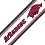 NCAA Arkansas Self-Stick Wall Border - Razorbacks Decor Accent