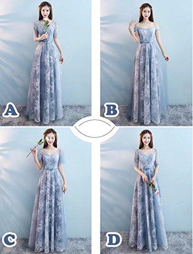 変形するミント低下【ノーブランド品】ロングドレス パーティードレス 大きいサイズ 花柄ドレス 全4タイプ 体型カバー 大人 ドレス 大きいサイズ 20代 30代 40代 二次会 パーティドレス 結婚式 ワンピース