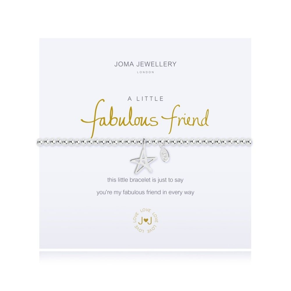 Joma Jewellery Fabulous Friend bracelet SVriEq