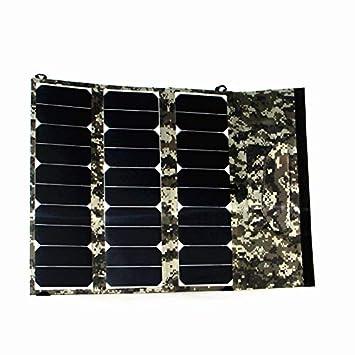 Amazon.com: Cargador solar Sunpower 30 W 12 V puerto USB ...