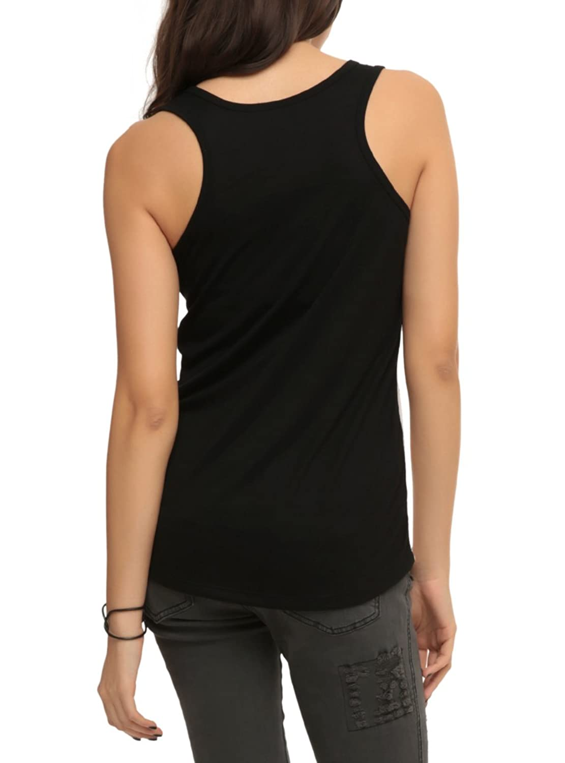 Black Butler Silly Sublimation Girls Tank Top