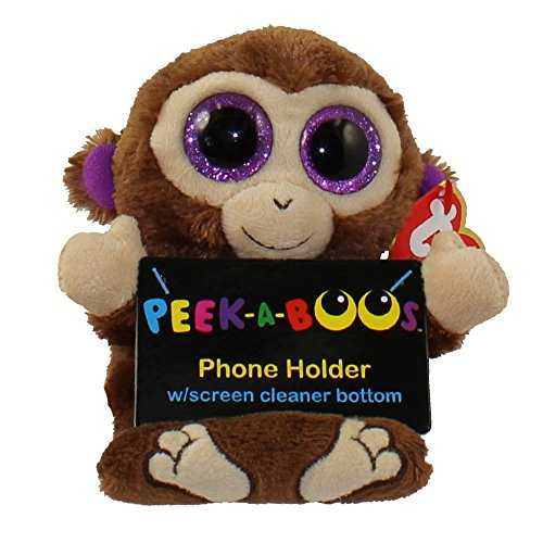 Chimps Monkey Phone Holder - stuffed Animal by Ty