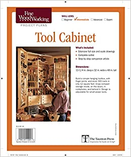 Amazon Com Fine Woodworking S Tool Cabinet Plan Fine Woodworking