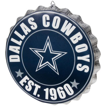 Dallas Cowboys 2016 Bottle Cap Wall Sign (Sign Dallas Cowboys)