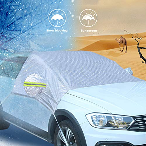 - Euone Snow Block, Snow Protector Car Visor Sun Shade Fornt Rear Windshield Cover Block Shields