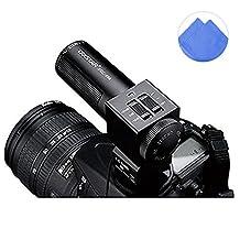 First2savvv SGC-698E11 condenser shotgun stereo microphone mic with tripod fits any DV& DSLR camera with microphone hole and path - Panasonic LUMIX DMC-FZ70 DMC-FZ200 DMC-FZ62 DMC-FZ45 DMC-GH3 DMC-LZ30 DMC-GH2 DMC-G6 DMC-FZ72 Samsung NX11 NX20 WB2100 EK-GN120 Leica v-lux3 Nikon DF panasonic LUMIX DMC-FZ1000EB DMC-FZ200 LUMIX DMC-FZ70 with dark blue Cleaning cloth