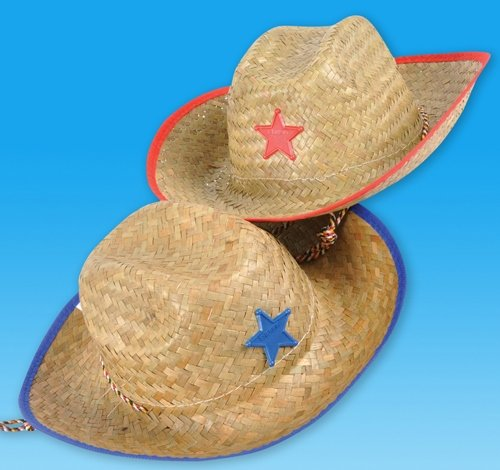 STRAW SHERIFF COWBOY HAT, Case of 144 by DollarItemDirect