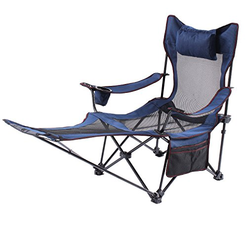 Folding Camping Chairs With Footrests July 2019 Home Ideas