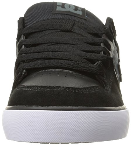 DC Shoes Men's Pure Se Skateboarding Shoe Black/Dark Grey sale cheap price 2FgEy