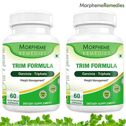 Морфема отделки салона Формула Капсулы для похудения - 500 мг Экстракт - 60 Вег капсулы - 2 Combo обновления
