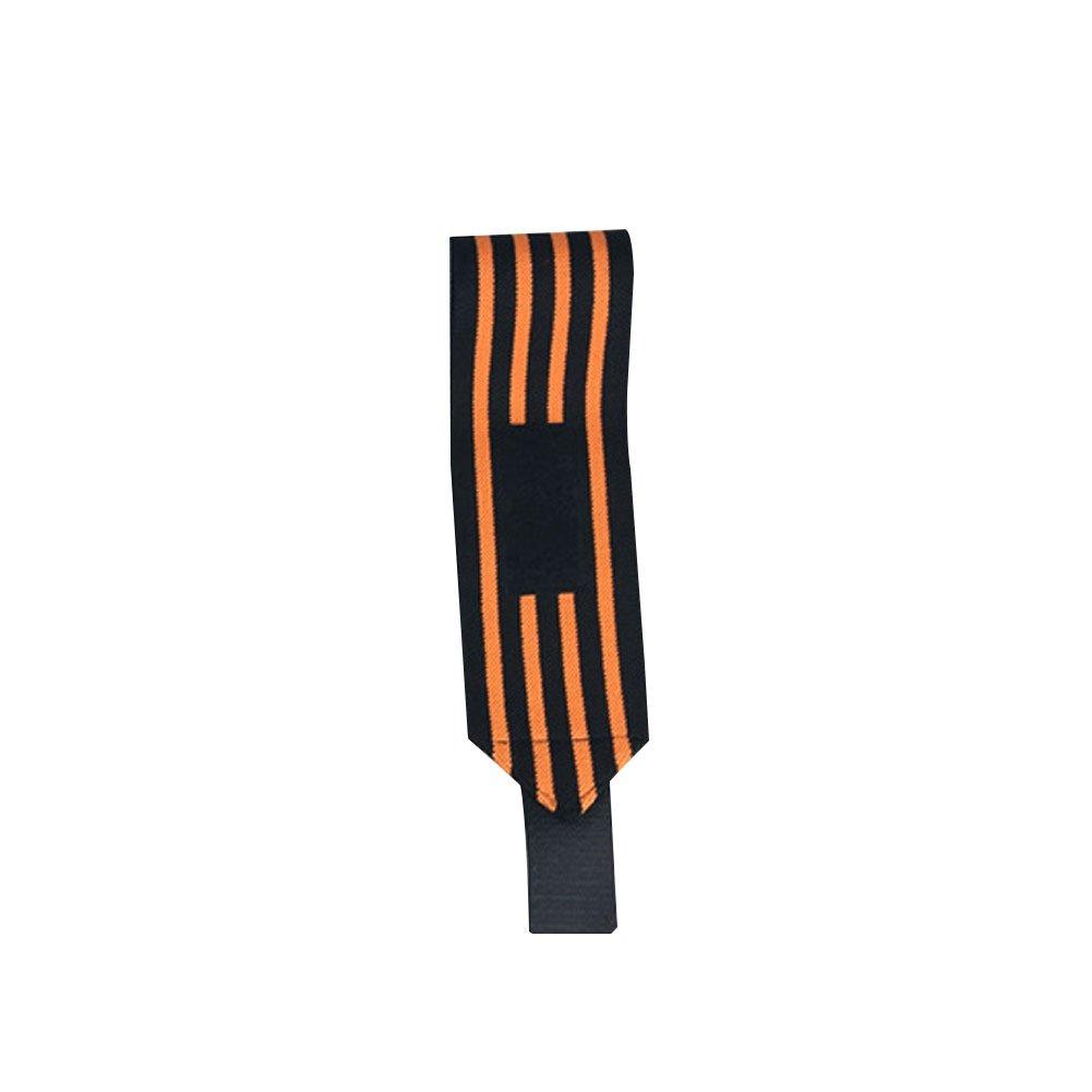 Slendima 1Pc Elastic Weight Lifting Wrist Wrap Supports, Gym Exercise Training Fist Straps - 8 Types