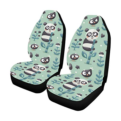 panda bear seat covers - 4