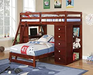 Twin over twin modular loft bed with chest and for Pleasure p bedroom floor lyrics