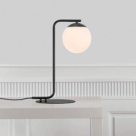 Nordlux 46635003 Grant - Lámpara de mesa (cristal opalina), color ...