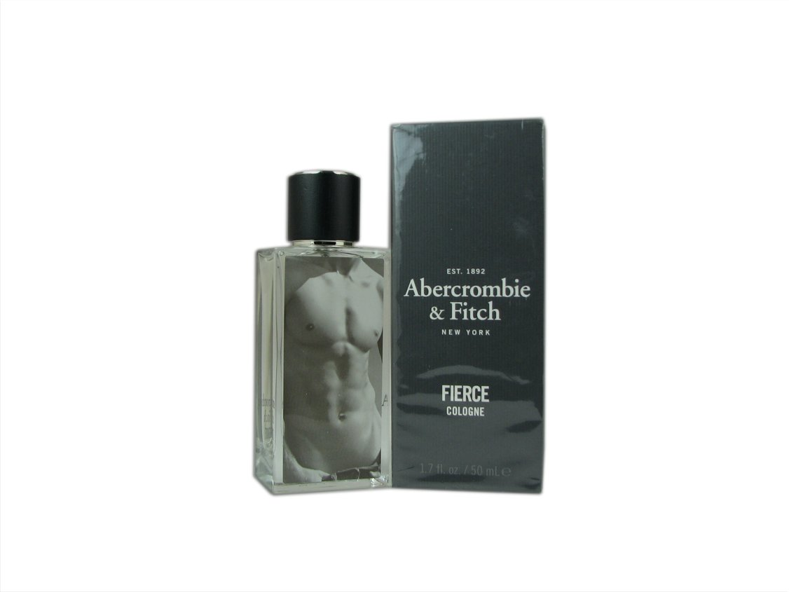 Abercrombie & Fitch Fierce Eau de Cologne Spray for Men, 1.7 Ounce